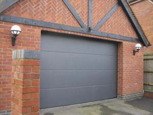 grey insulated garage door from Garage Door Workshop